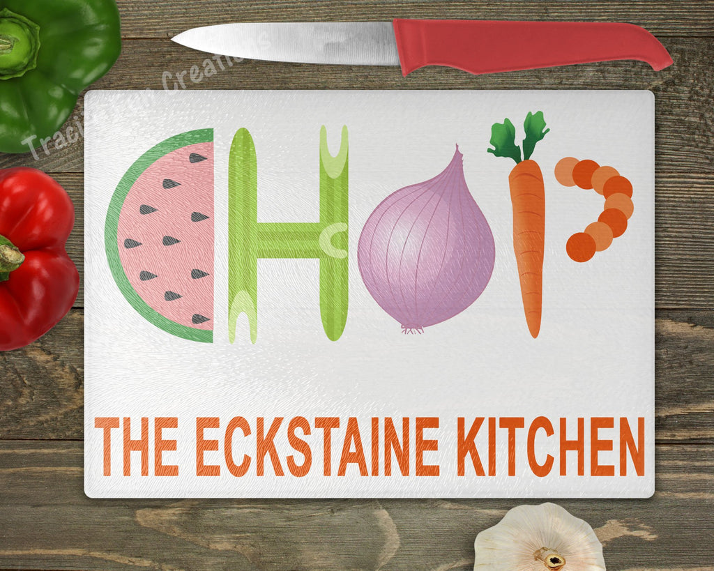 Chop Personalized Cutting Board