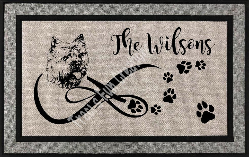 Cairn Terrier Door Mat
