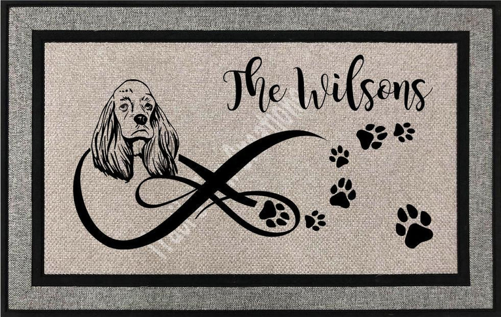 Cocker Spaniel Door Mat