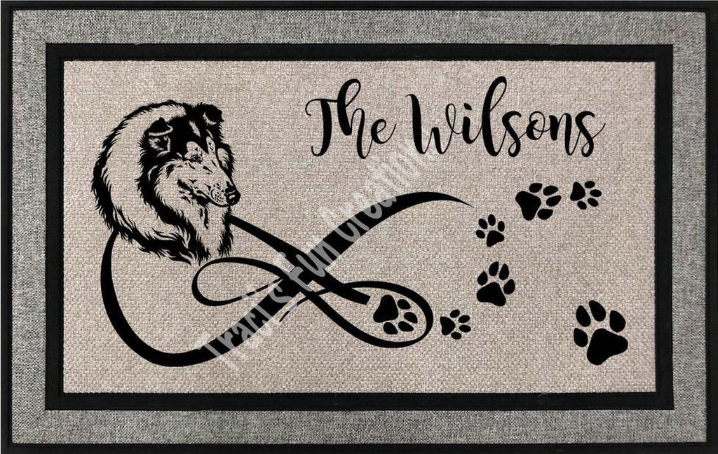 Collie Door Mat