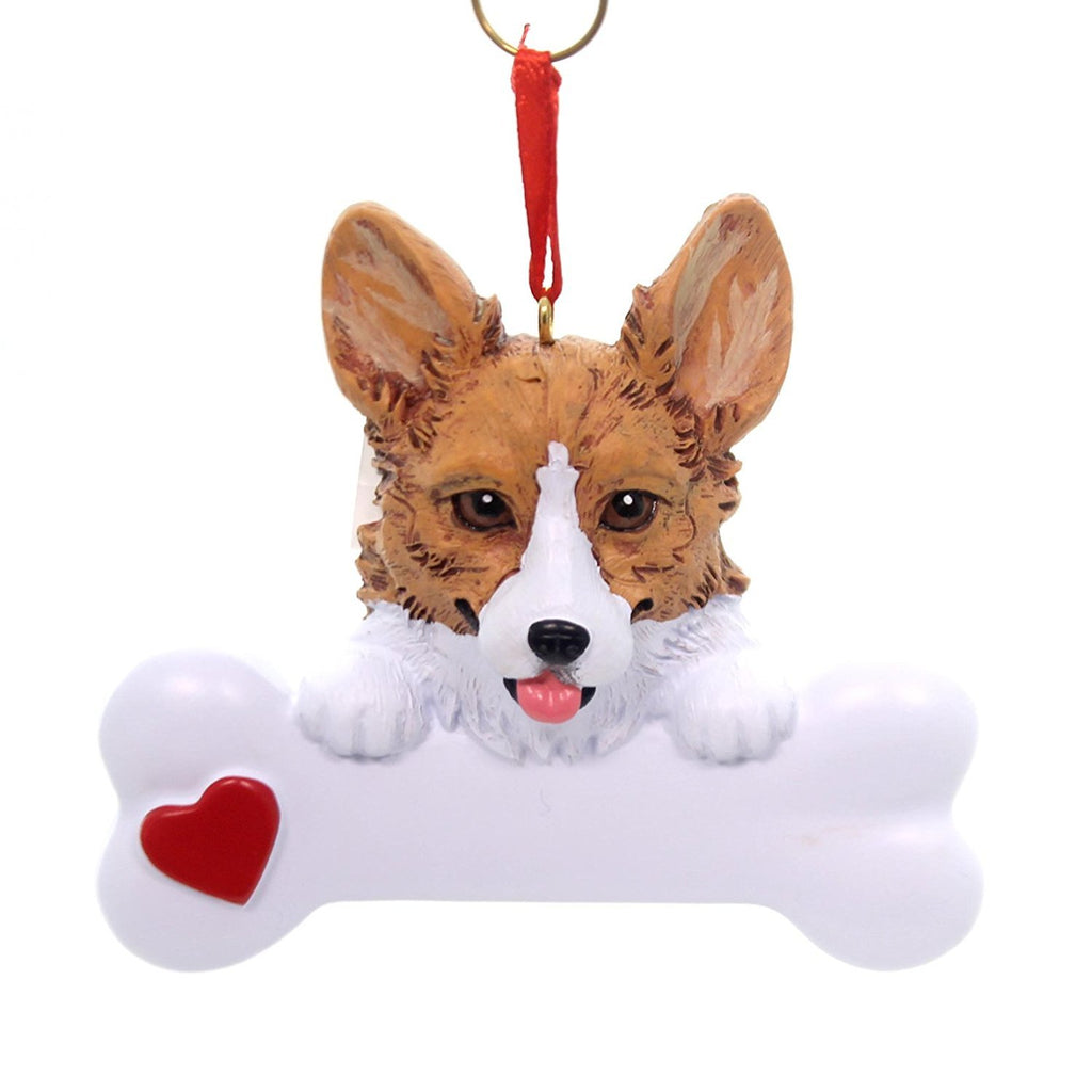 Corgi Christmas Ornament