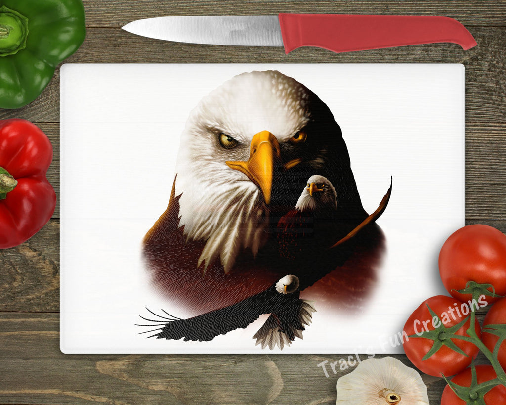 Bald Eagle Personalized Cutting Board
