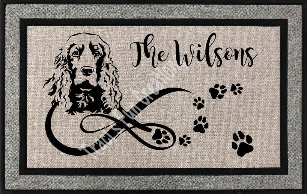 English Cocker Spaniel Door Mat