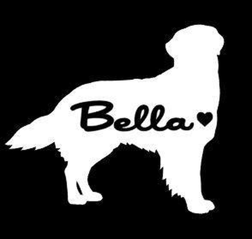 Golden Retriever Car Decals