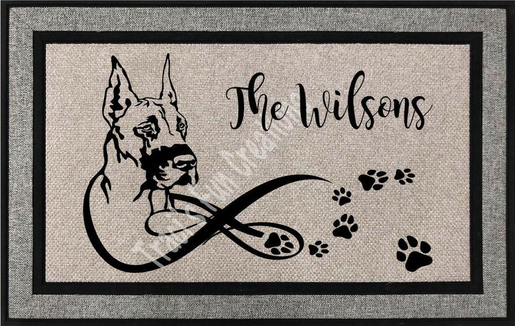 Great Dane Door Mat