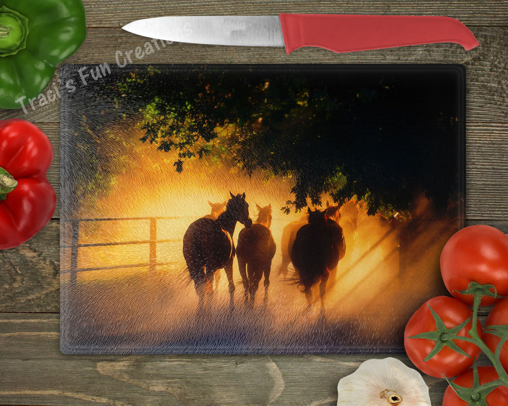 Horse Personalized Cutting Board