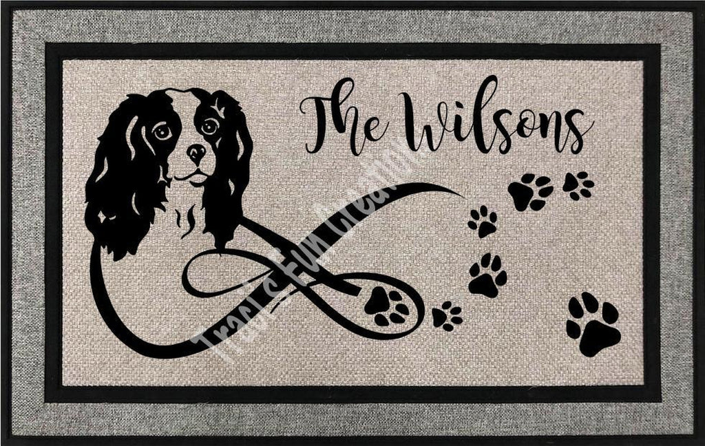 King Charles Door Mat
