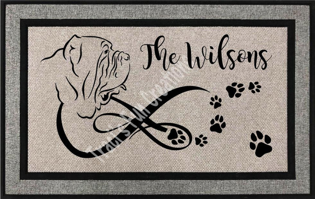 Neapolitain Mastiff Door Mat