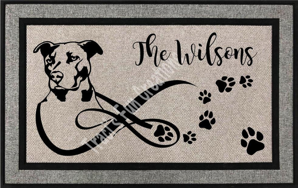 Pitbull Door Mat