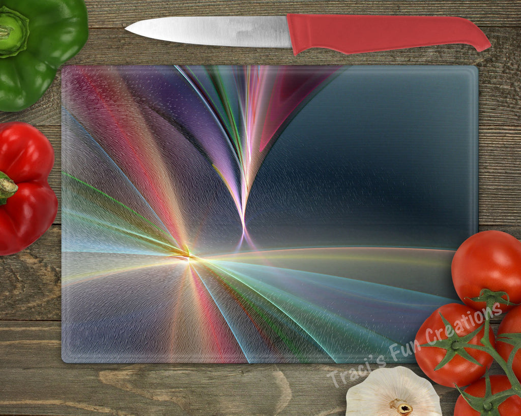 Colorful Personalized Cutting Board