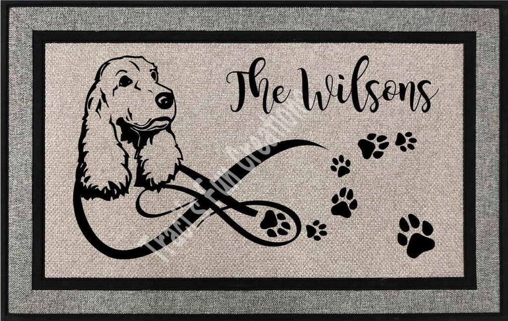 Springer Spaniel Door Mat