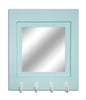 Quakertown Farmhouse Mirror With Hooks, 20 Paint Colors