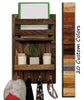 Harvest Rustic Large Vertical Organizer, 20 Stain Colors