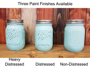 Shabby Chic Mason Jar Wall Sconce & Key Hook, 20 Paint Colors