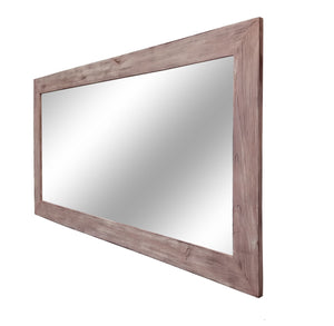 Shiplap Reclaimed Wood Mirror - Renewed Decor & Storage