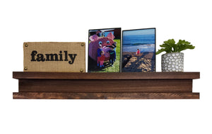 Shiplap Wood Floating Shelf, Display Shelf - Renewed Decor & Storage