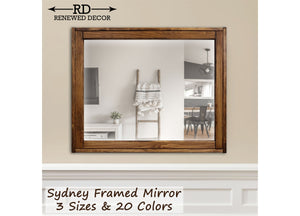 Sydney Rustic Mirror - Renewed Decor & Storage