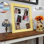 Countryside Clothespin Photo Collage - 20 Paint Colors - Renewed Decor & Storage