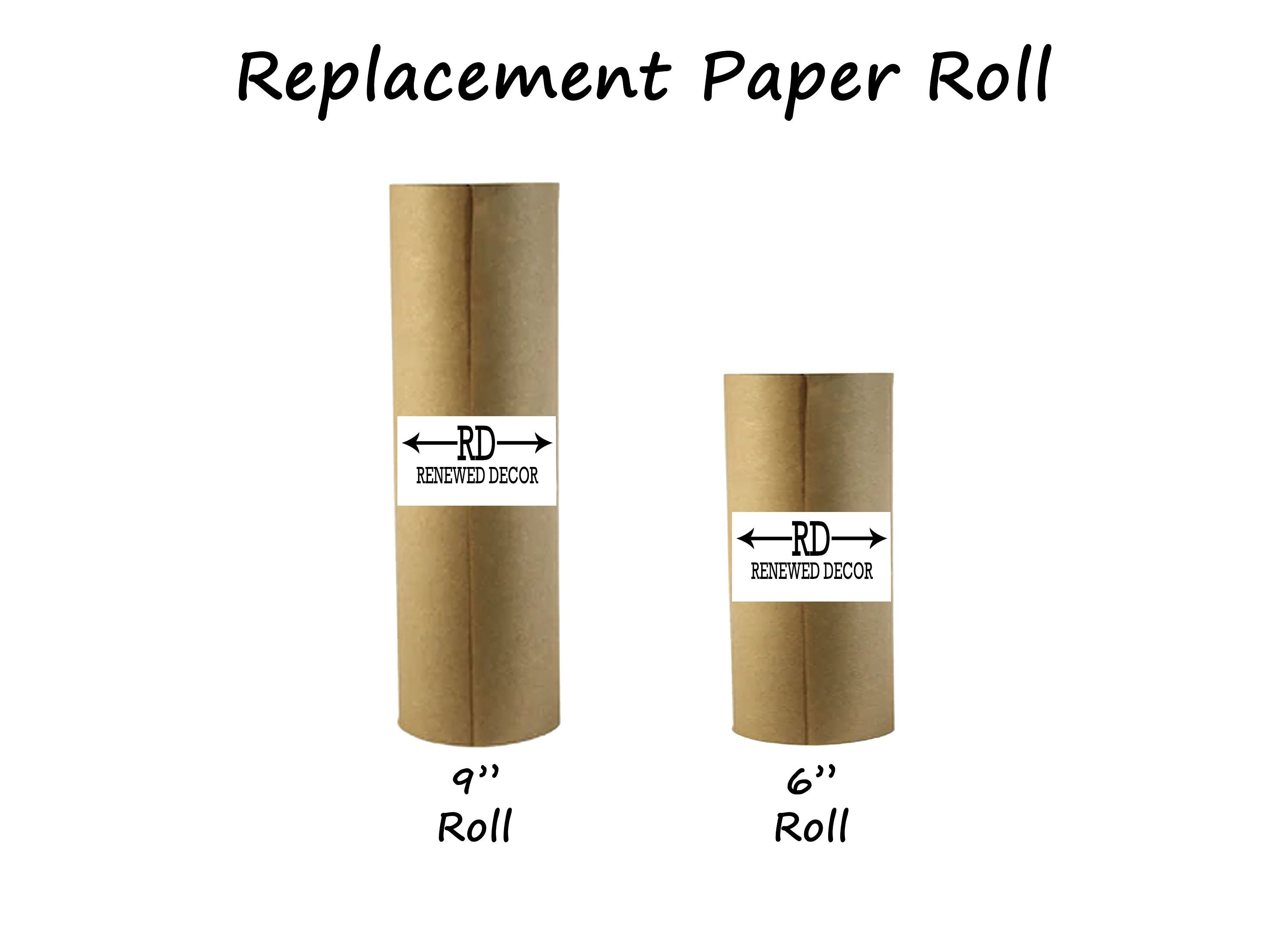 Replacement PaperRoll, Memo Paper Roll for Renewed Decor - Renewed Decor & Storage