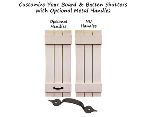 Board & Batten Shutters - 20 Paint Colors - Renewed Decor & Storage