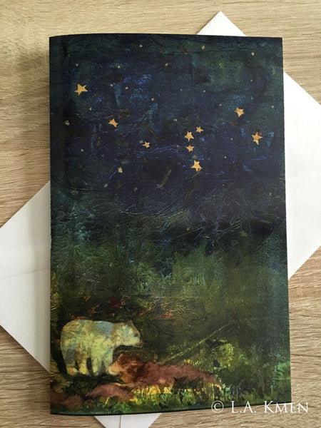 """Ursa Minor"" Greeting Card"