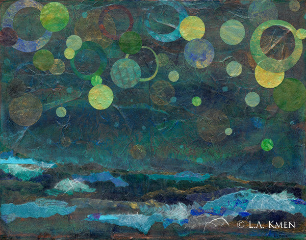 """Transparent Night""  Fine Art Print"