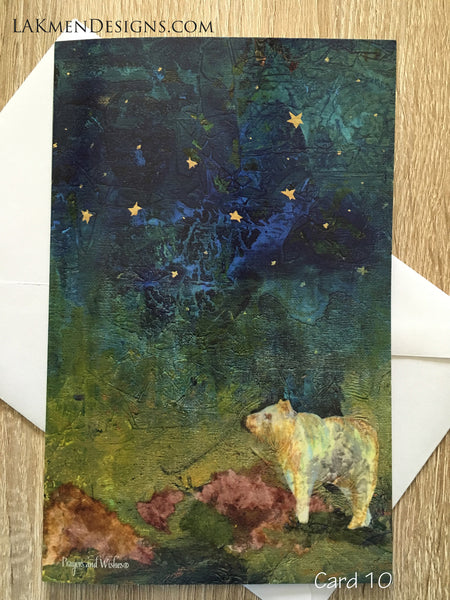 """Ursa Major"" Greeting Card"
