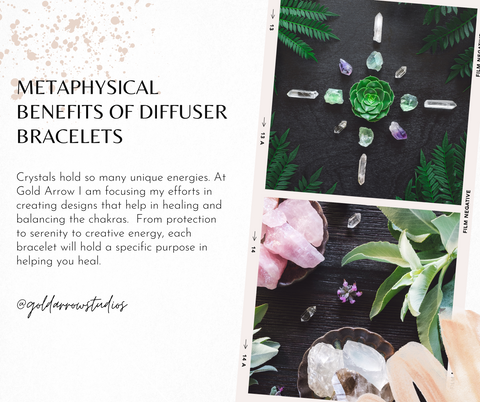 metaphysical benefits of diffuser jewelry