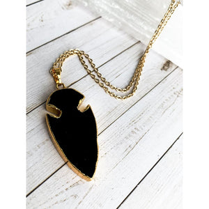 Arrowhead Stone Necklace - Necklace