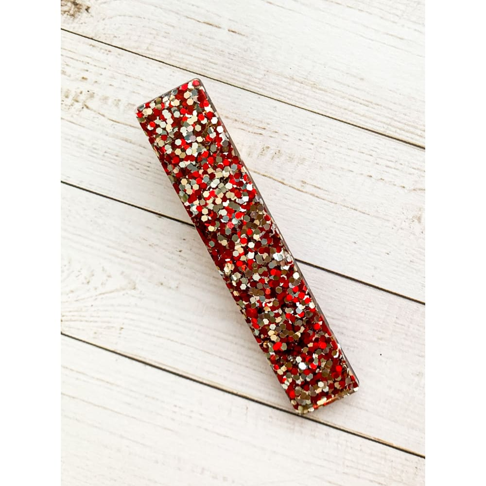 Be Mine Glitter Clips - Bar - Clip