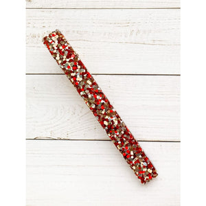 Be Mine Glitter Clips - Skinny Bar - Clip