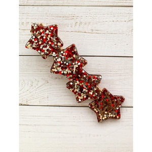 Be Mine Glitter Clips - Star - Clip