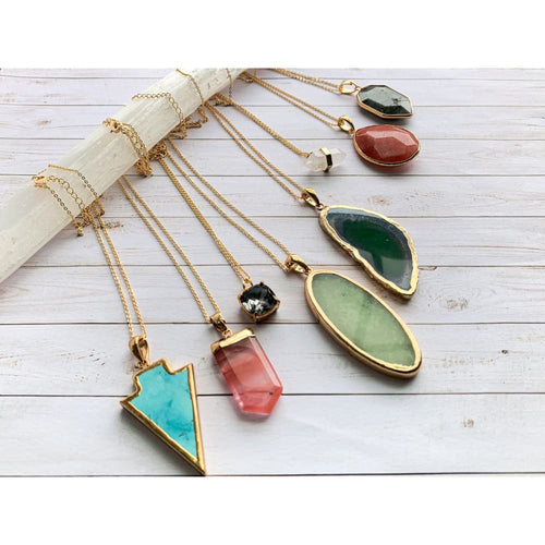 Boho Crystal Layering Necklaces - Necklace