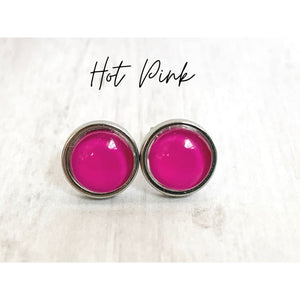 Candy Dot Studs - Gold Arrow Studios