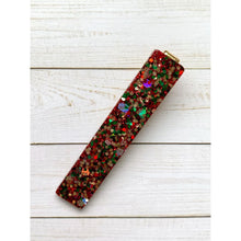 Load image into Gallery viewer, Christmas Eve Glitter Clips - Bar - Clip