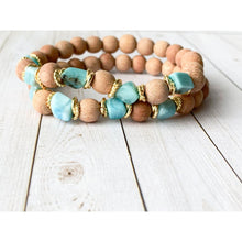 Load image into Gallery viewer, Dakini Diffuser Bracelet - Essential Oil Bracelet
