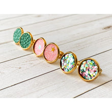 Load image into Gallery viewer, Dreamy Night Textured Studs - Stud Earrings