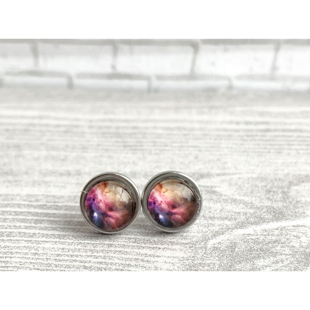 Galaxy Graphic Studs - Gold Arrow Studios