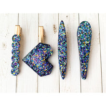 Load image into Gallery viewer, Galaxy Ooze Glitter Clips - Clip