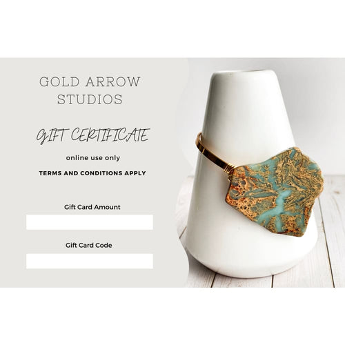 Gold Arrow Studios Gift Cards - Gold Arrow Studios