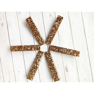 Gold Dust Glitter Clips - Clip