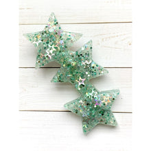 Load image into Gallery viewer, Imperial Star Glitter Clips - Stars - Clip