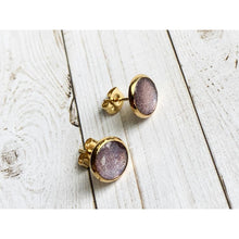 Load image into Gallery viewer, Lavender Fields - Stud Earrings
