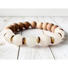 Load image into Gallery viewer, Love Essential Oil Bracelet - Gold Arrow Studios