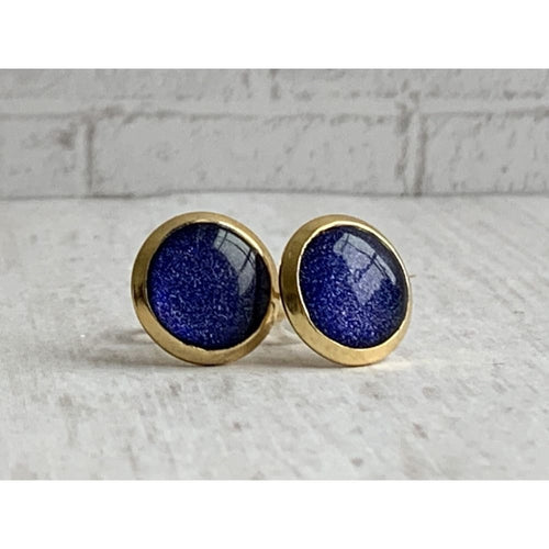 Maffei Galaxy Stud Earrings - Gold Arrow Studios