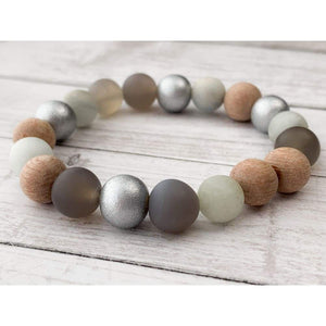 Mantra Diffuser Bracelet - Gold Arrow Studios