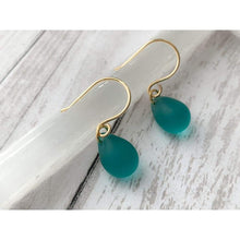 Load image into Gallery viewer, Mermaid Tears Drop Earrings - Gold Arrow Studios