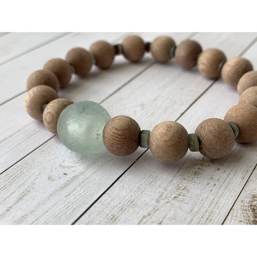 Morning Dew Diffuser Bracelet - Gold Arrow Studios