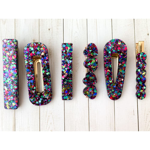 Party Smash Glitter Clips - Clip