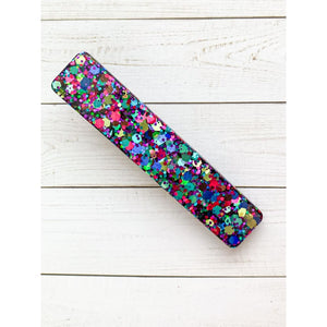 Party Smash Glitter Clips - Large Bar - Clip